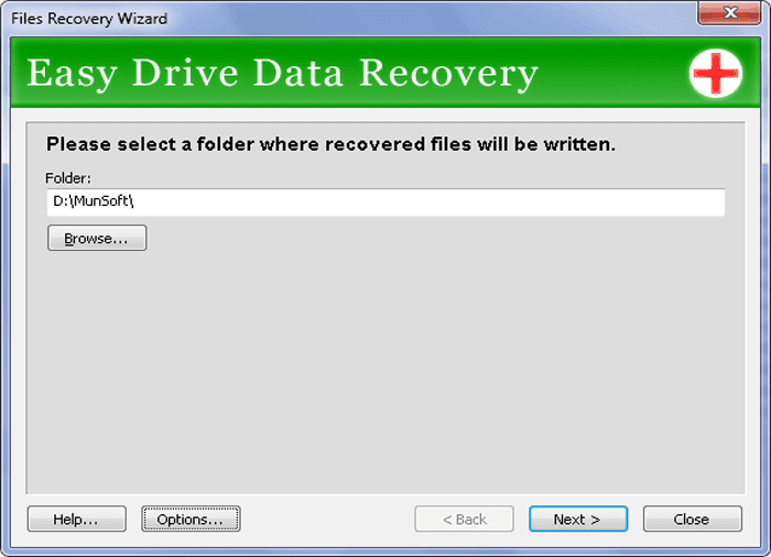 Images easy mail recovery