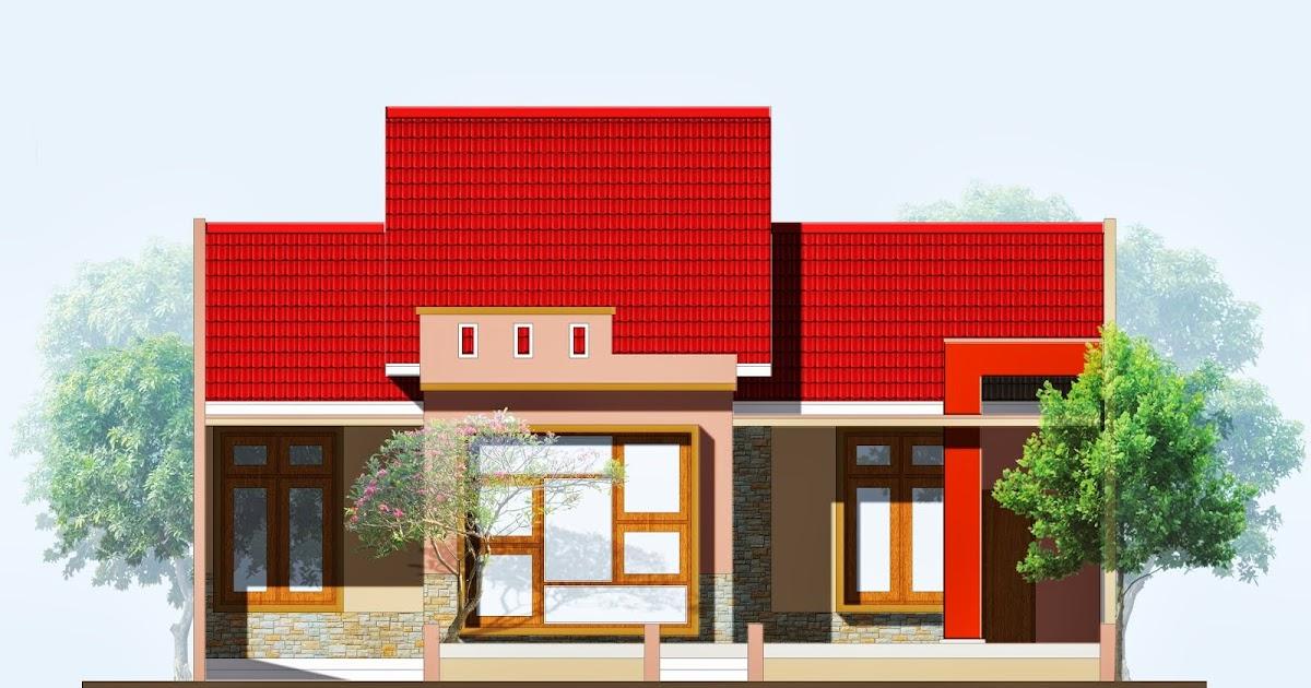 TFQ Architects Desain Tampak Depan Pondok Bambu