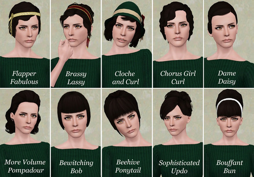 Need Help Finding A Vintage Hairstyle The Sims Forums