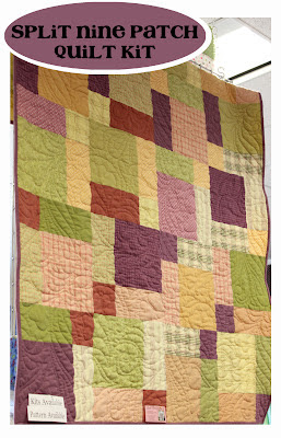 Split Nine Patch Quilt Kit