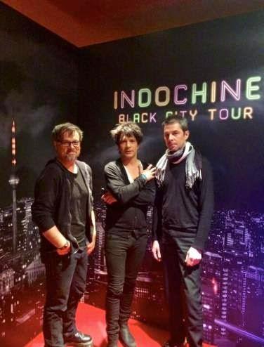 Resumen de las respuestas de Indochine - estreno del Live Black City Tour