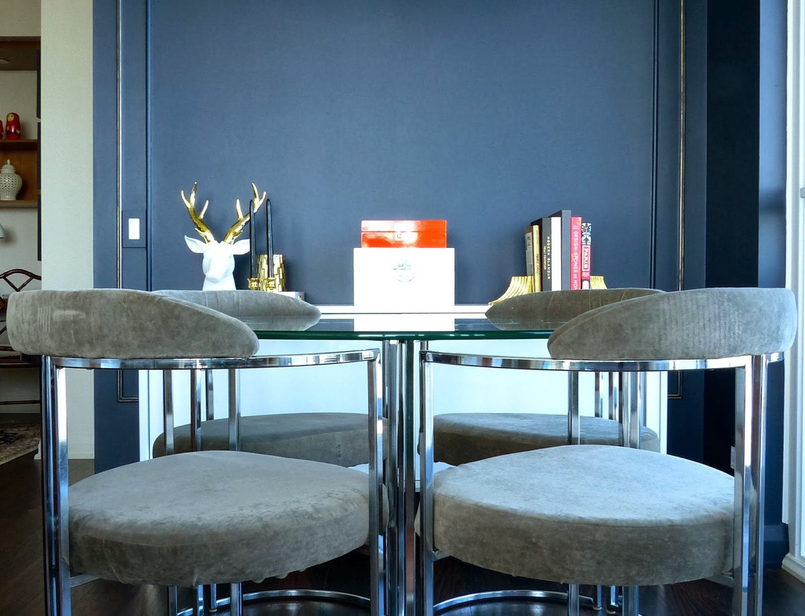 modern round glass dining table toronto gallery