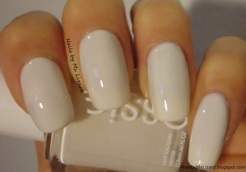 Nails by Ms. Lizard: NOTD: Essie Marshmallow