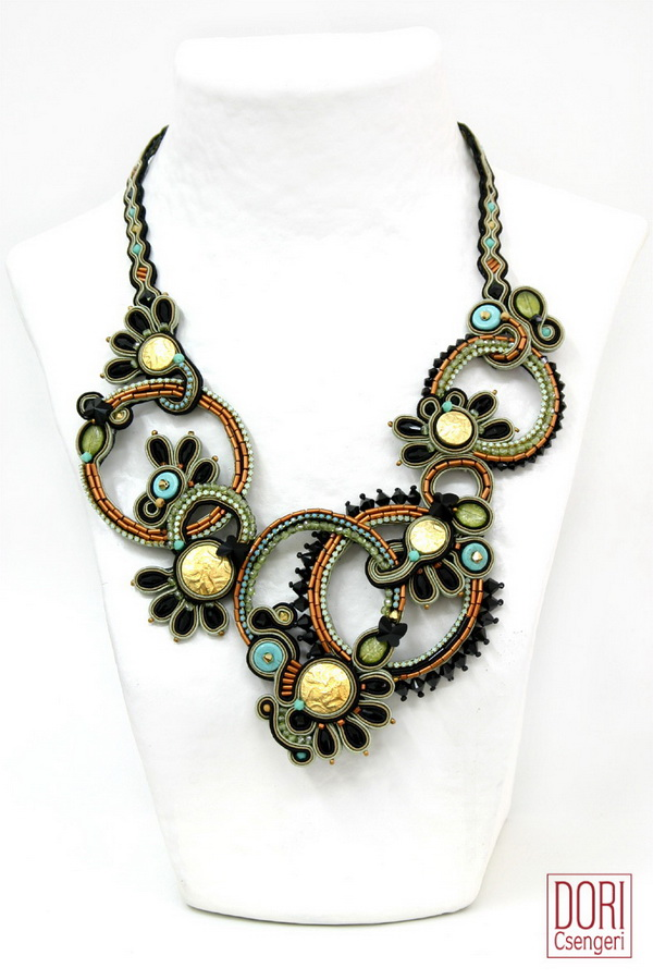 amazing soutache jewelry by dori csengeri the beading