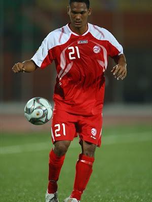 Alvin Tehau - Tahiti National Team (1)