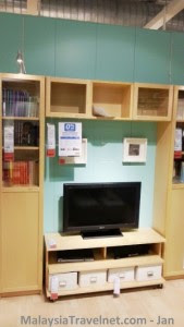 Ikea Benno TV Bench and Cupboard set