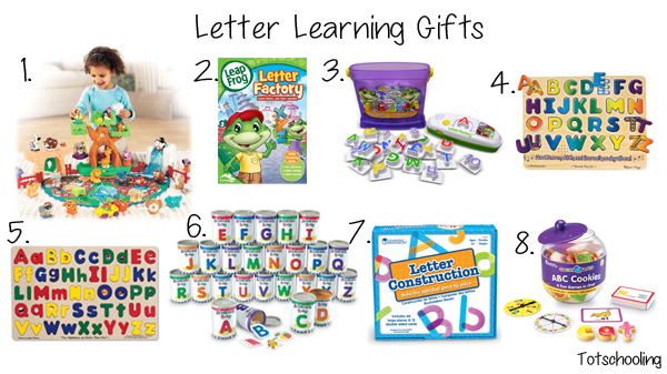 Letter Learning Gift Guide
