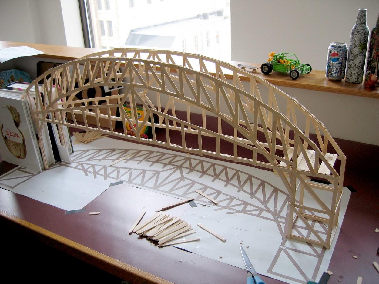 Contoh Keterampilan Membuat Jembatan Dari Stick Es Cream
