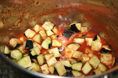 ricetta ragù  di verdure