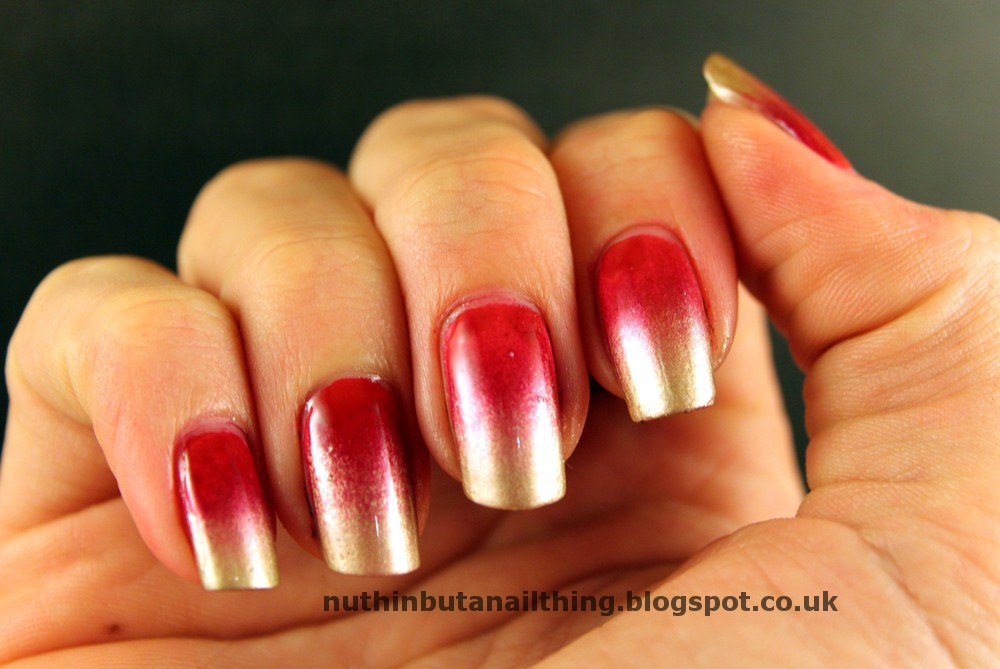 Red And Gold Nail Designs Tumblr Images Free Download Red And