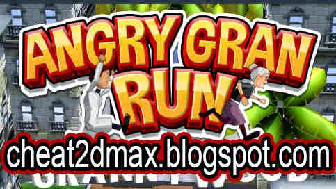 Angry Gran Run Cheat Coins Hack Buy and Upgrade All Cheat 2D MAX!!!