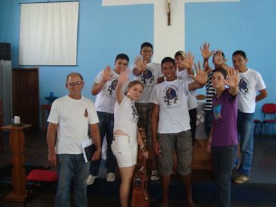 """Paróquia no Tocantins realiza encontro com o tema: """"Juventude Missionaria, Operação Jesus Cristo, eu Apoio"""""""