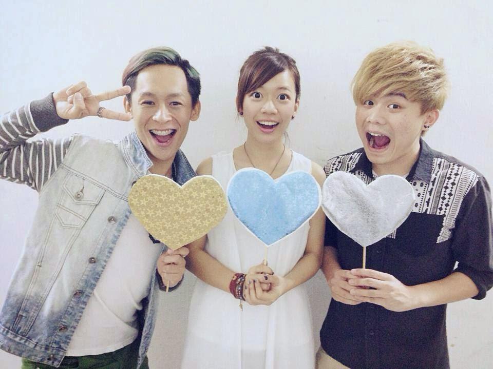 [L-R] Shelhiel邝晅恒, Shio郭修彧 and Shyan符俊贤 Shhh...Listen! 音乐会 Acoustic Showcase