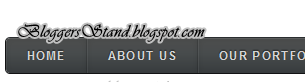 Add Black Drop Down CSS3 Navigation Menu Bar for blogger