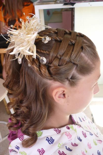 Peinados Para Fiesta Sencillos Para Nina Imagui