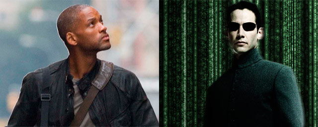 Will Smith como Neo (The Matrix)
