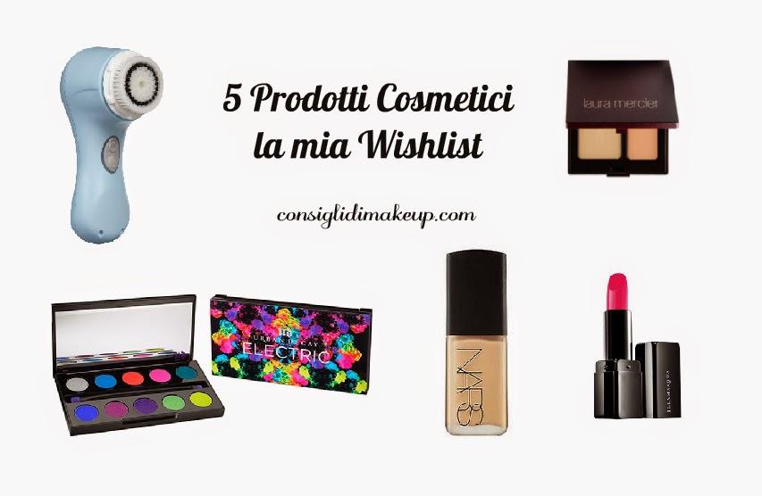 """Tag: 5 Prodotti Cosmetici """"la mia Wishlist"""""""