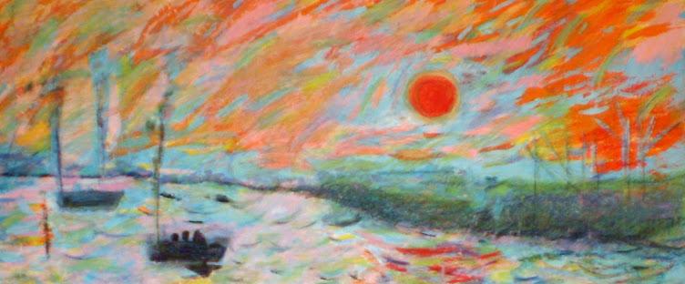 "Particolare ""Impressione levar del sole Monet"