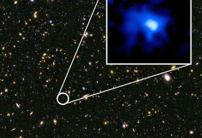 Astrônomos localizam galáxia mais distante já encontrada
