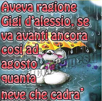 Buongiorno venerdi con pioggia for Immagini divertenti buongiorno venerdi
