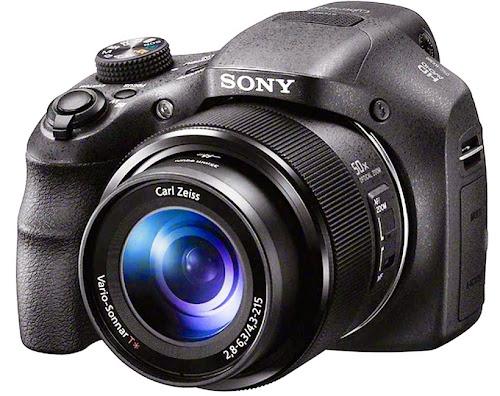 Sony DSC-H300. Digitalizer