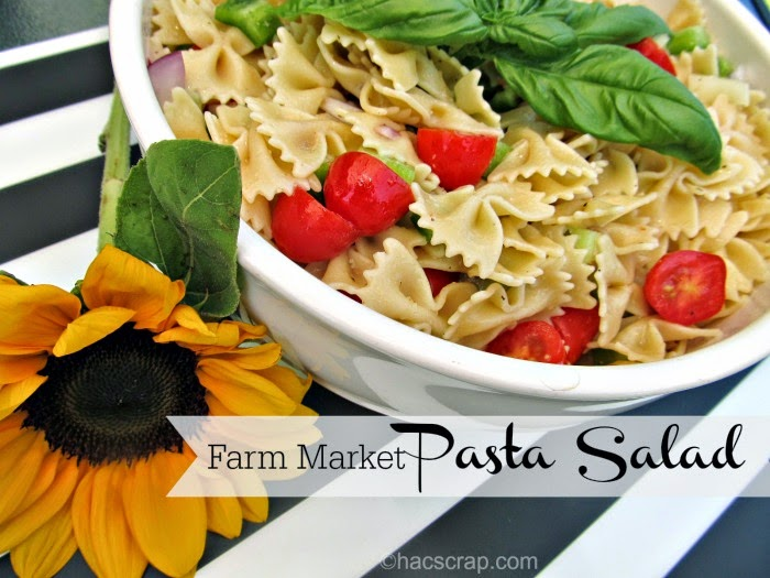 My Scraps | Farm Market Pasts Salad