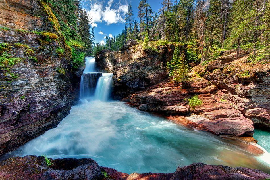 Saint Mary Falls