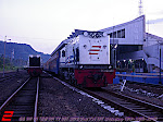 CC 201 04 Feat KA 138 Sritanjung (BW-SGU-LPN) Ketika mau berangkat di Stasiun Banyuwangi Baru