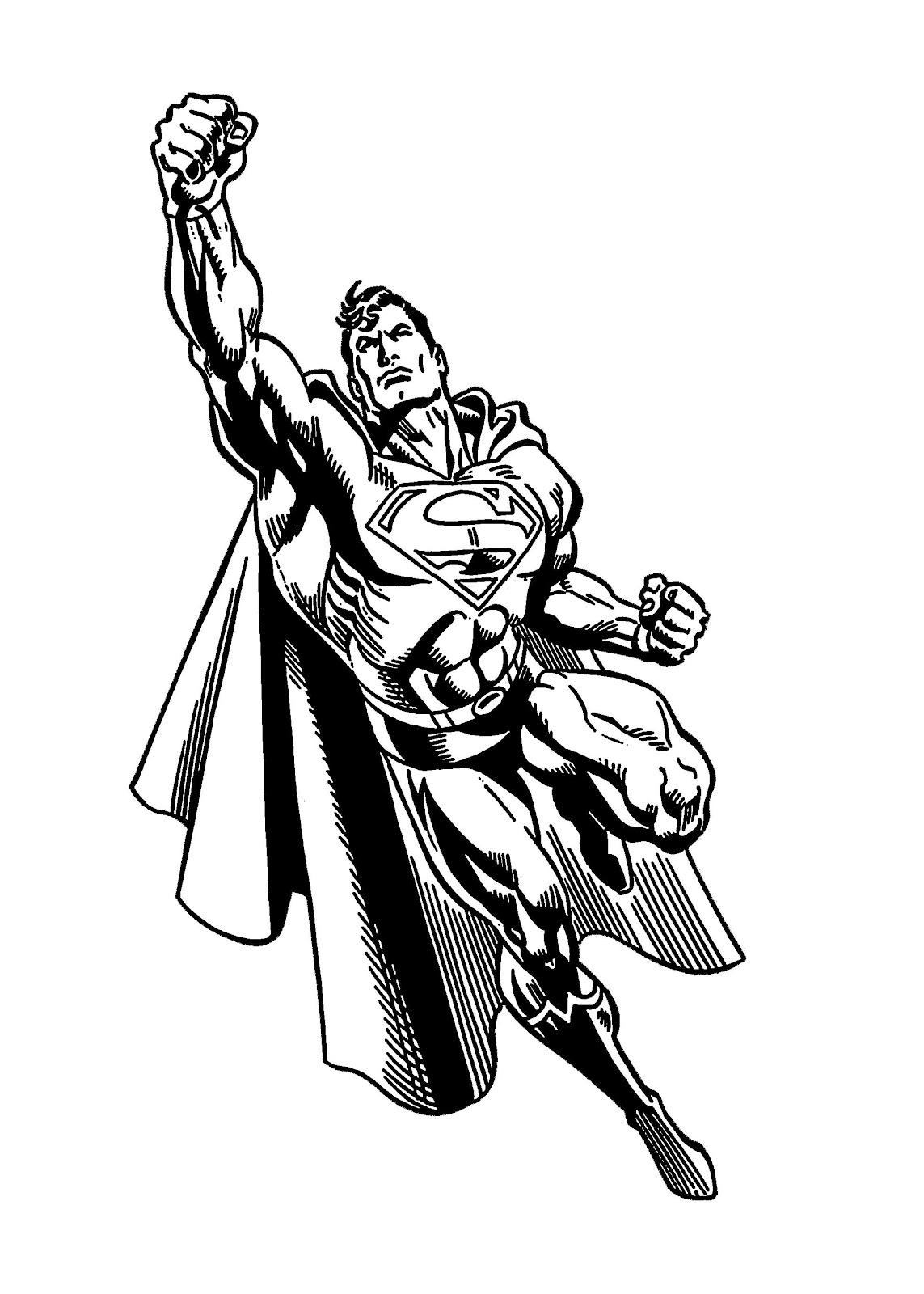 Untuk model dalam tutorial ini saya pilih tokoh superhero terpopuler di dunia Superman dengan pertimbangan warna kostumnya adalah warna warna dasar