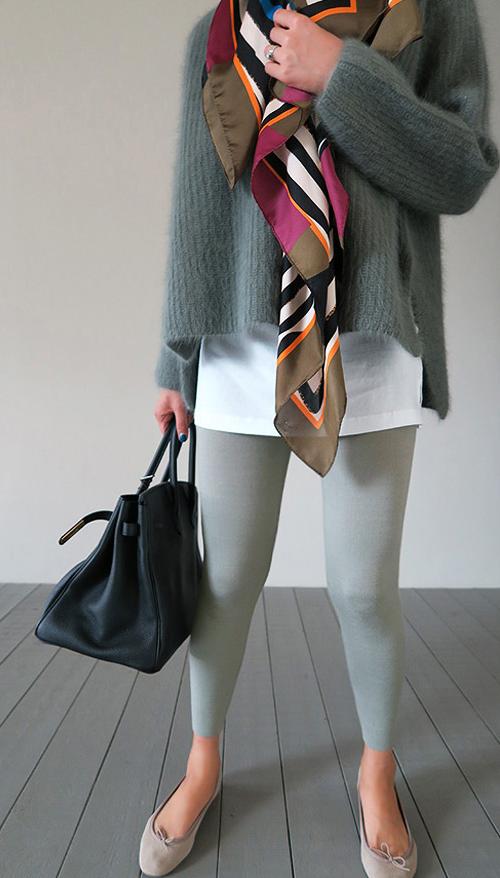 Stretch Knit Leggings