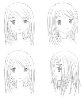 Lukisan Sketsa Cara Gambar Sketsa Wajah Manusia