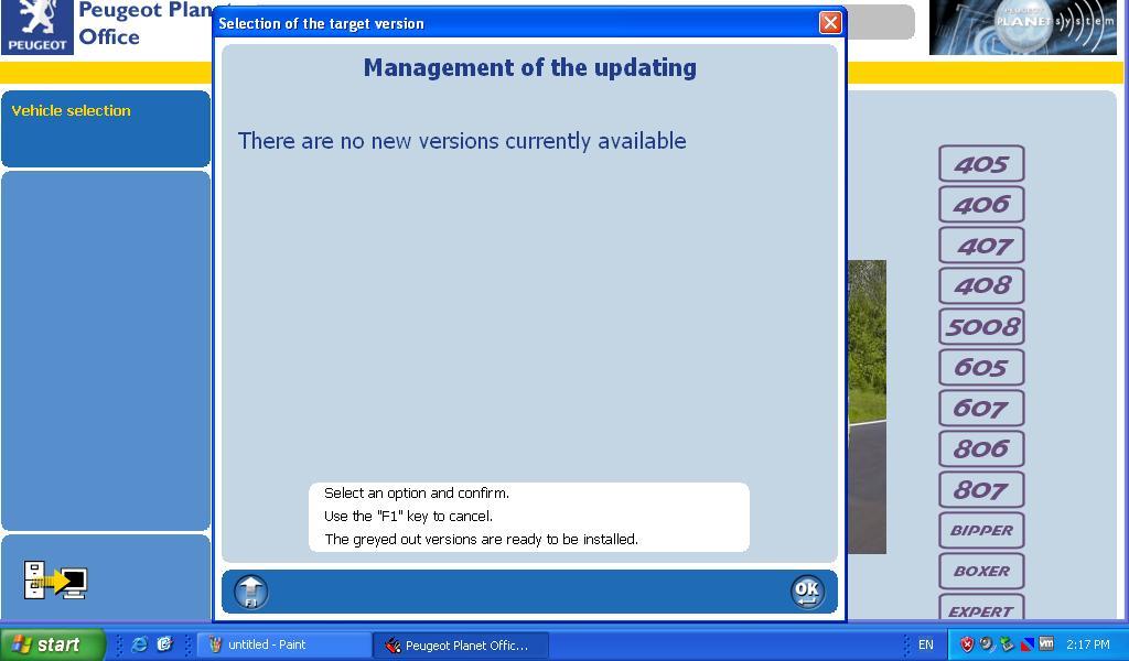 Peugeot 206 Diagnostic Software