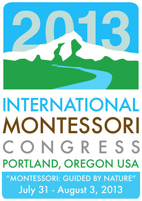 NAMC international montessori congress 2013 portland oregon logo