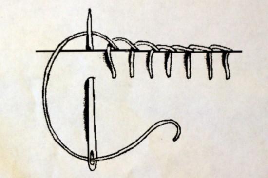 Швы для шитья на руках