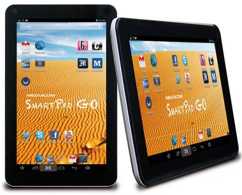 Nuovo modello Android 4.2 e display da 9 pollici di diagonale per Mediacom