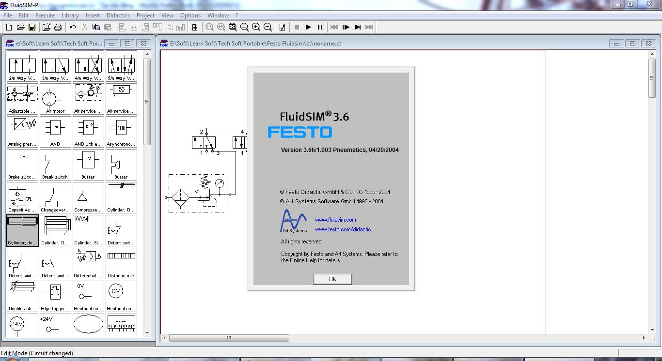 Code activation fluidsim 5 FESTO Fluid