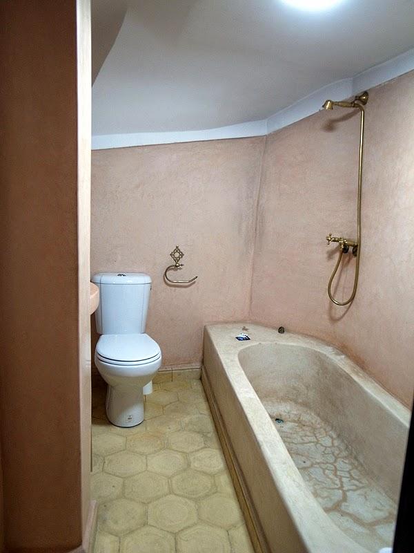 リヤドのバスルーム