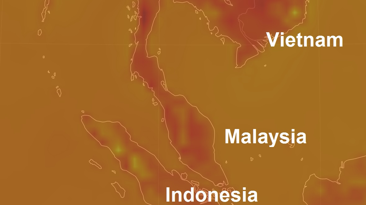 Malaysia expecting excessively high temperatures in excess of 40°C due to El-Niño this month
