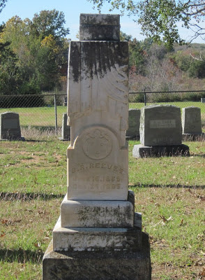 Gravestone of B. Robert Reeves