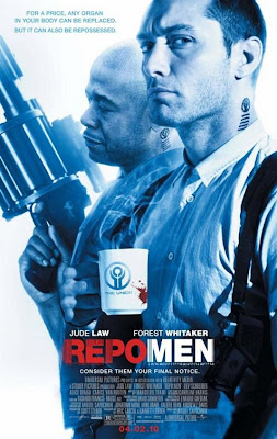 Watch Repo Men 2010 BRRip Hollywood Movie Online | Repo Men 2010 Hollywood Movie Poster