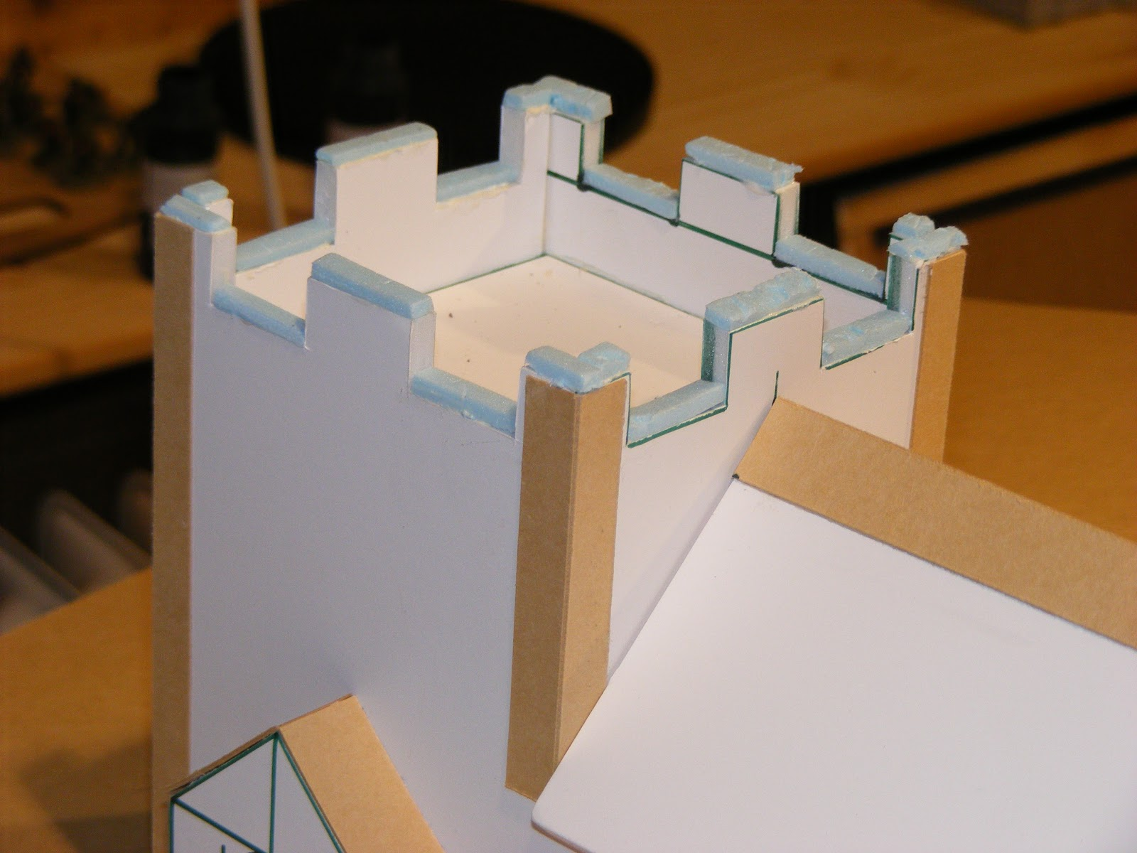 how to make revit a thin paper model
