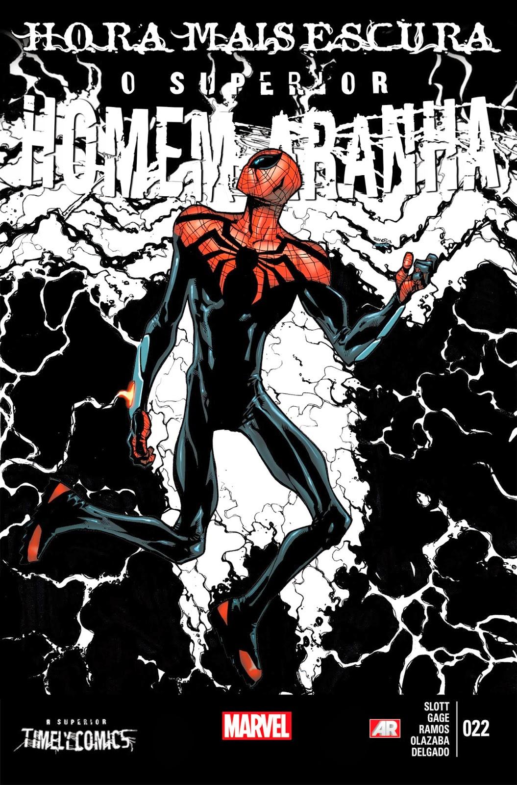 Nova Marvel! O Superior Homem-Aranha #22