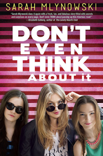 Don't Even Think About It Sarah Mlynowski book cover