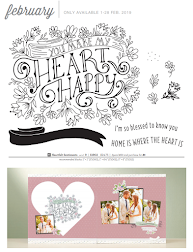 Close to My Heart - February 2019 Stamp of the Month