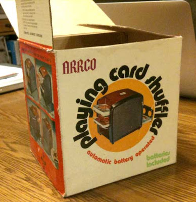 AARCO Playing Card Shuffler other side