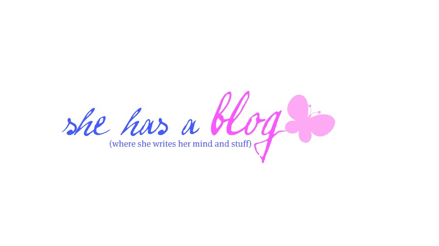 she has a blog
