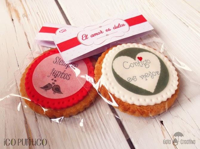 galletas san valentín Ico Puntico
