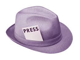 Press hat for press releases