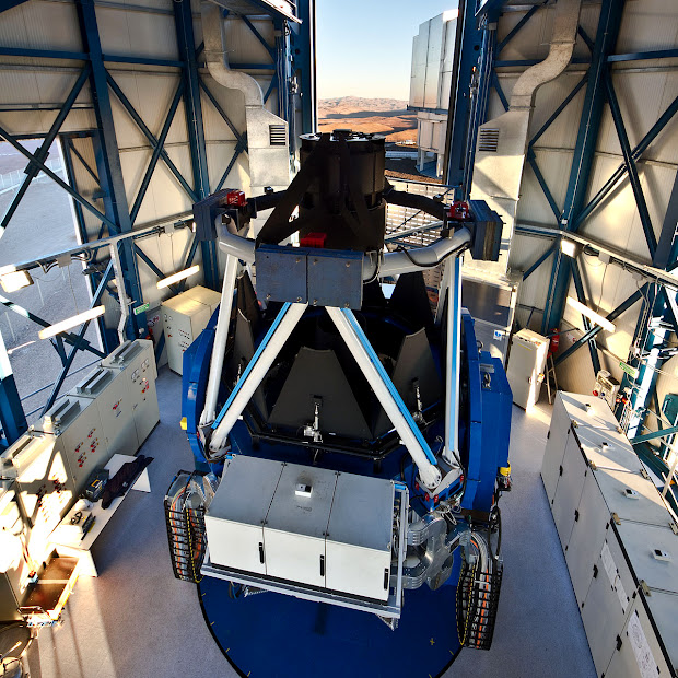 The VST: World's Largest Visible Light Survey Telescope!