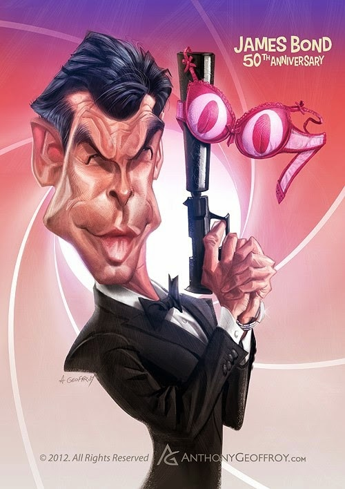 05-Pierce-Brosnan-James-Bond-007-Anthony-Geoffroy-Caricature-Illustrations-Comics-www-designstack-co